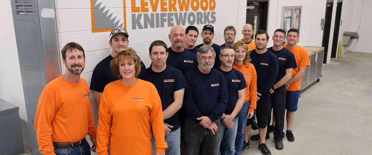 Leverwood Knife Works Team Photo